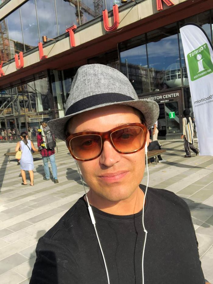 solhatt stockholm grå